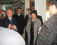 国家领导人张克辉副主席莅临我公司