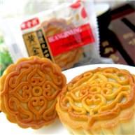 黄金兴广式蛋黄黑芝麻月饼